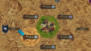 Elvenar review: de kaart