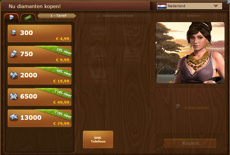 Forge of Empires handleiding: diamanten
