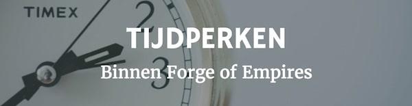 Tijdperken binnen Forge of Empires