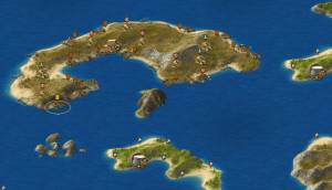 Grepolis eiland