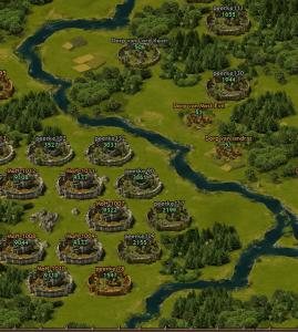 Tribal Wars 2 kaart