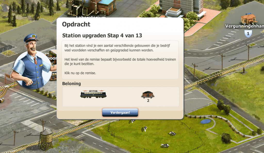 Rail Nation review: voorbeeld opdracht beloning