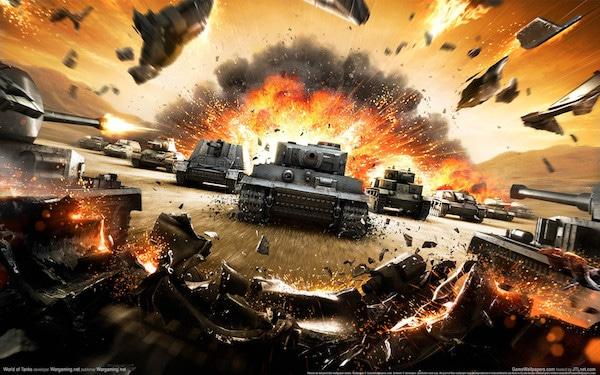 World of Tanks: online tank spel