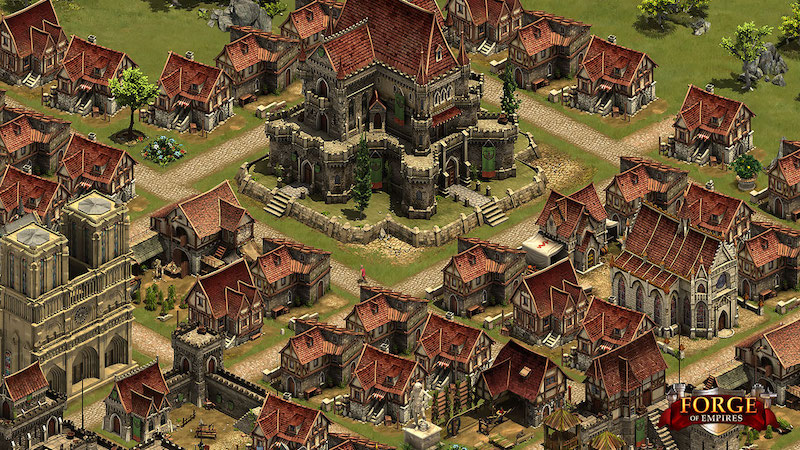 Forge of Empires: stedenbouw game