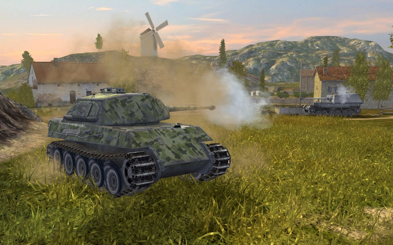 Mobiele tanks in World of Tanks Blitz